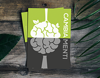 Cambiamenti - Postcard for Greenbranding Project