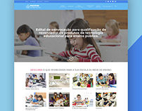 Positivo Tecnologia Educacional - Website