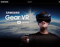Samsung Gear VR - Single Product Page - Redesign