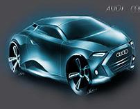 New quick car sketches