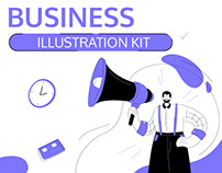 Business Situations Illustration Kit