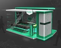 Kiosk for local Brand