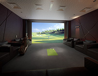 CINEMA | GOLF SIMULATOR