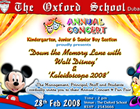 School Concert - Invitation Card
