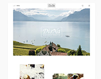 Internet shop for Ukraine Wine company