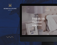 Home & Living - Webdesign