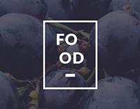 Food - Restaurant Web/UI Concept.