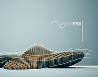 Parametric design | curvilign bench