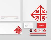 TB logistics branding
