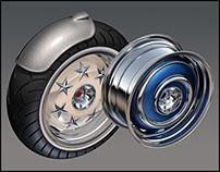 Wheels ~ 3D CGI