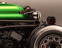 Can-Am F3 Spyder Custom render.