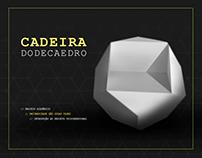 Móvel em Papelão - Cadeira Dodecaedro