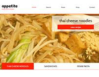 Appetite Food Recipes Website