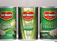 Diseño de etiqueta: Maiz Criollo Del Monte