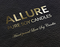 Allure Soy Candles Branding