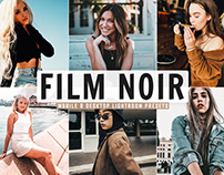 Free Film Noir Mobile & Desktop Lightroom Presets