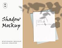 Stationery Shadow Free Mockup