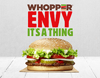 BURGER KING® WHOPPER® Campaign