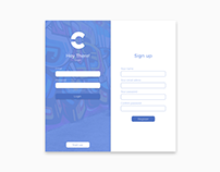 Creative Center Website Mockup + Full Design