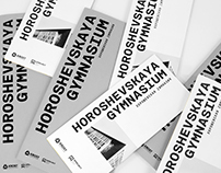 Horoshevskaya gymnasium graphics