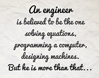Cheers to the engineers inside everyone of us!