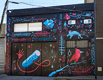 Color BA International Festival Wall