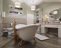 Bathroom Provence