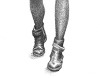 HEADLESS | pencil illustration