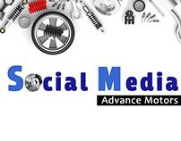 Social Media posts for Car parts Project .