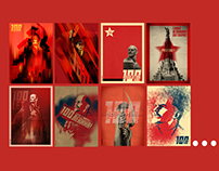 100 Years Of October Revolution