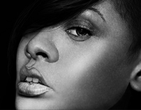 The artiste: Rhianna portrait