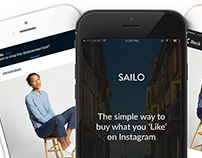 Sailo. The App to Buy What You 'Like' on Instagram.