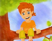 """Zoki Poki"", children book cover"