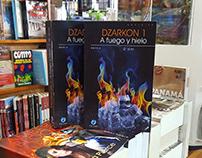 Dzarkon Book Cover Design