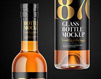 11 Spirits Bottles PSD Mockups