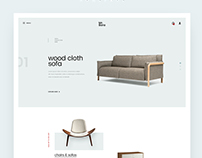 Furniture Site Concept