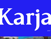 Karja / Typeface