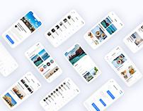 Travel App Design Ui