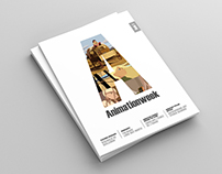 Animationweek - Magazine template