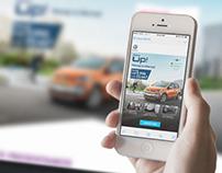 Diseño y retoque Campaña Nuevo CrossUp!, Volkswagen