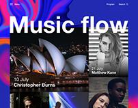Music flow website