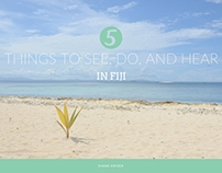 5 Things to See, Do, and Hear in Fiji