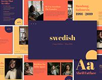 [FREE PRESENTATION] Swedish - Presentation Template