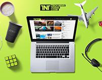 Tech News Today Website Design
