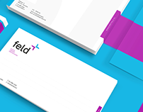 feld | logo & stationary design, branding