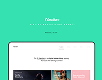 Digital Agency Website - C-Section