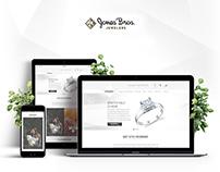 Jones Bros - Web Design