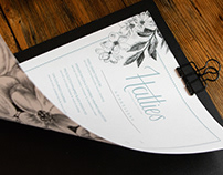 Hattie's — Branding and Menu Design