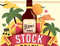 Fernet beach party 2015 key visual