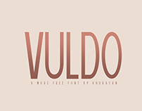 Vuldo font - Free for Commercial Use